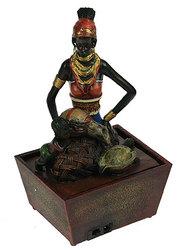 Фонтан декоративный Африканка