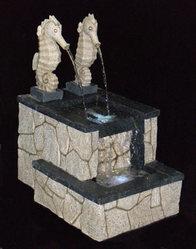 Фонтан с помпой Римский парк, с подсветкой