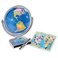 Интерактивный обучающий глобус Intelliglobe с электронной ручкой-указкой
