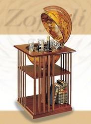 Напольный бар для напитков в виде глобуса Библиотека
