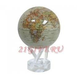 Cамовращающийся глобус МОБИЛЕ с политической картой мира. MG-6-ATW