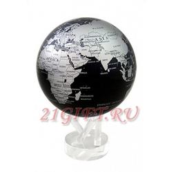 Cамовращающийся глобус МОБИЛЕ с политической картой мира. MG-85-SBE