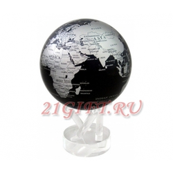 Cамовращающийся глобус МОБИЛЕ с политической картой мира. MG-6-SBE