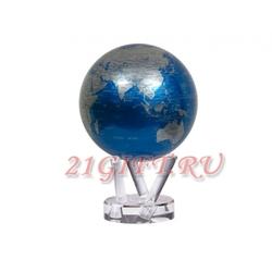 Cамовращающийся глобус МОБИЛЕ с политической картой мира. MG-45-NBE