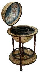 Глобус бар Сокровища древнего мира напольный d=42см, 50*50*90см