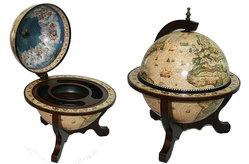 Глобус бар Сокровища древнего мира настольный d=33cм, 45*45*59