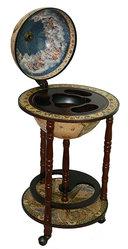Глобус бар Сокровища древнего мира напольный d=33см, 44*44*88см