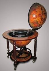 Глобус-бар напольный Священный Грааль
