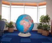 Аренда больших глобусов диаметром 130см