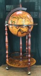 Напольный глобус-бар Край Земли