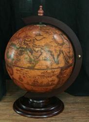 Глобус-бар настольный Новая Земля