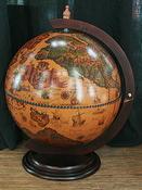 Глобус-бар настольный d=42 см, арт. 11860