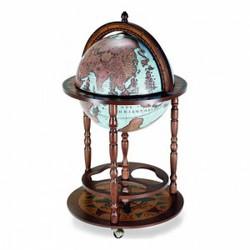 Глобус-бар напольный Карта морей