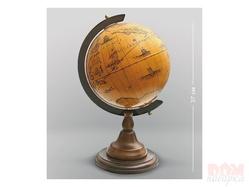 Глобус настольный, 37 см.