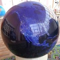 Глобус Космический снимок Земли d=130, арт. 2083